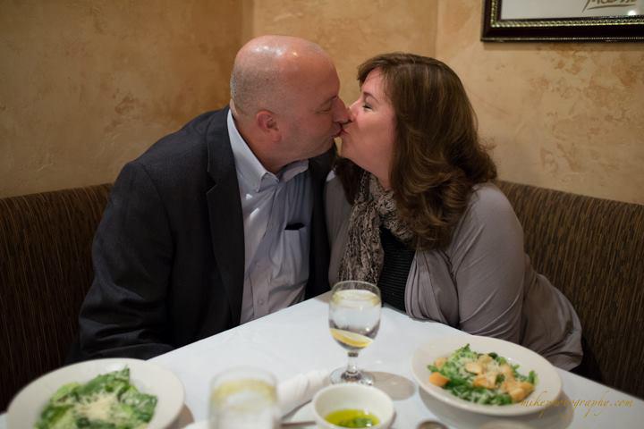 Hursts kissing event holder
